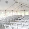 For small wedding ceremonies, we have the option of hosting your wedding ceremony in the tent off of our banquet room, which holds approximately 100 guests.  For information on larger ceremonies, please call Jeff at 218.773.1207.